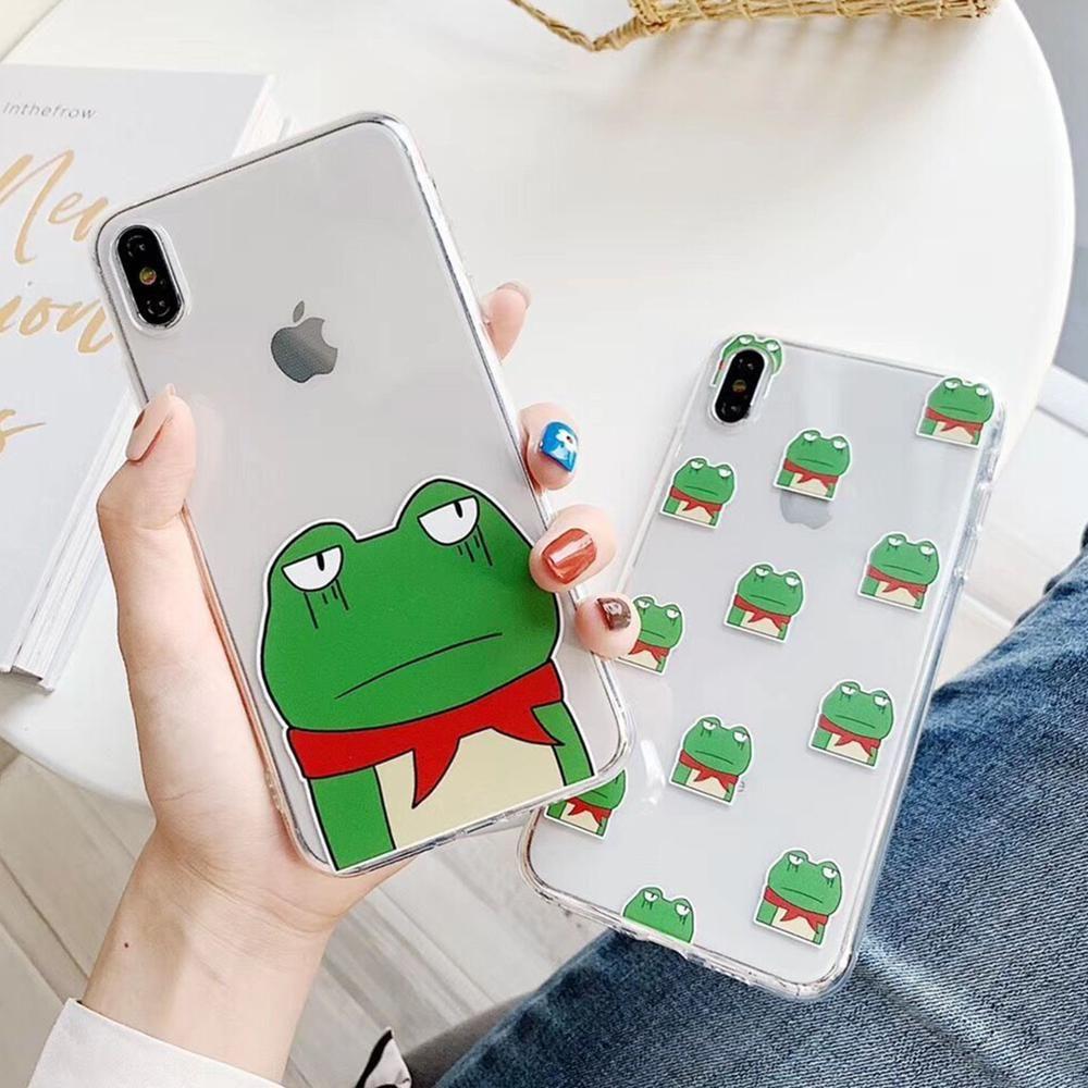 Cartoon frog iphone case iphone iphone cases unique
