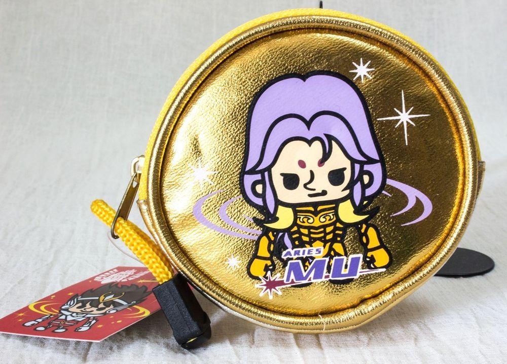 Saint Seiya Aries Mu Panson Works Gold Coin Case JAPAN ANIME MANGA