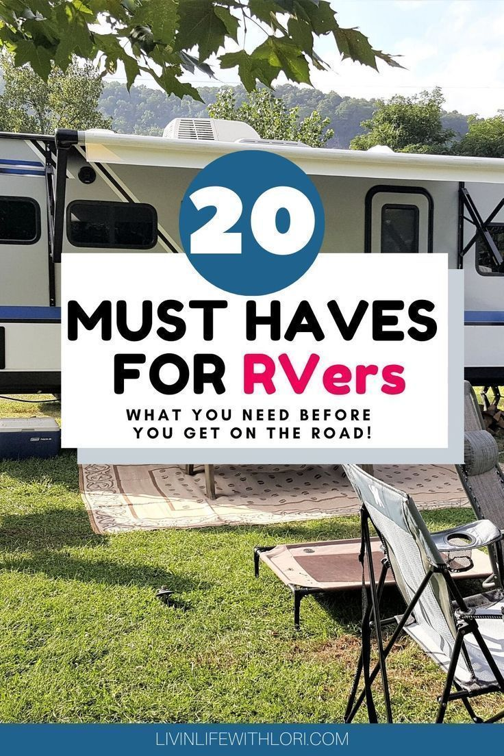 20 Must Haves For New RVers