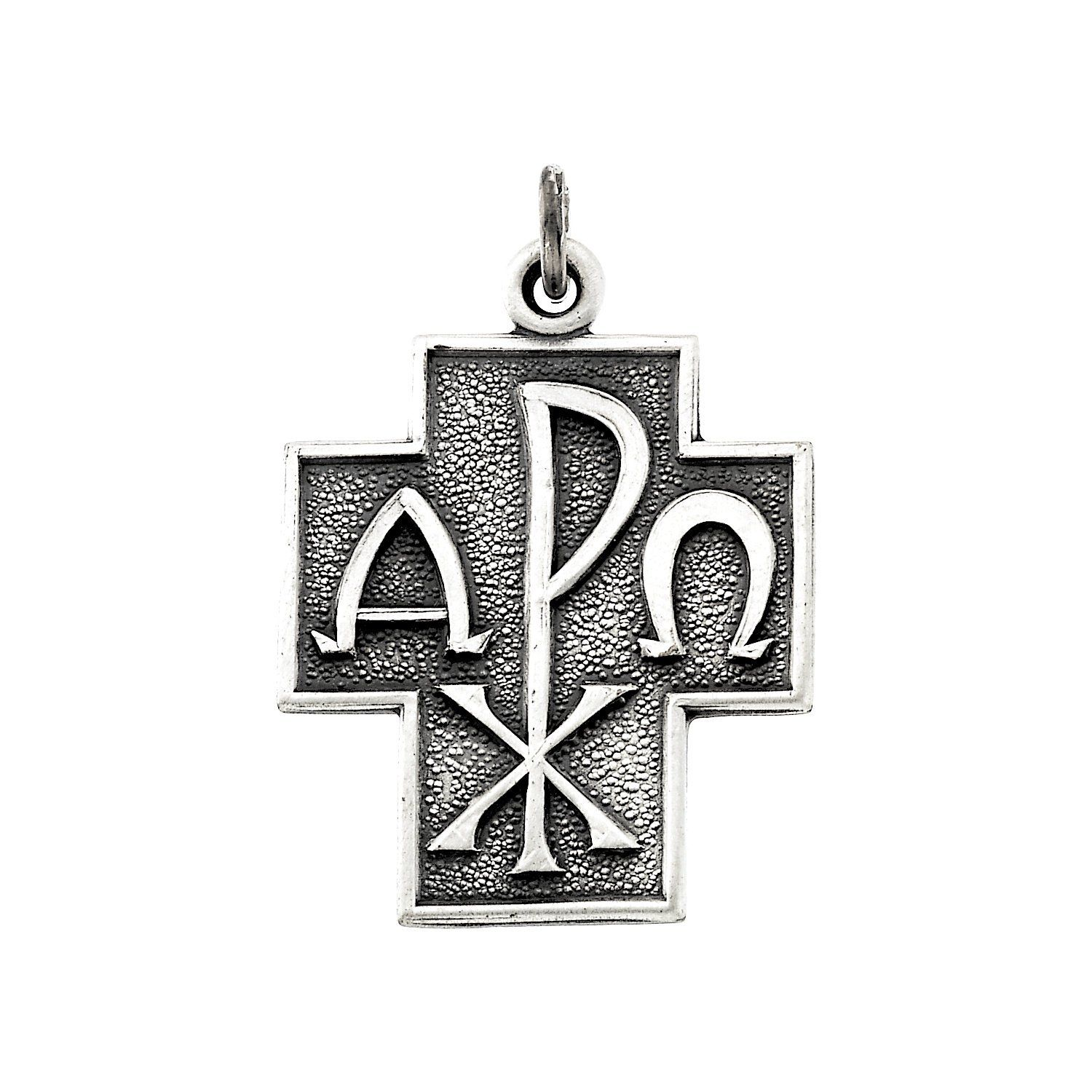 Roy rose jewelry sterling silver 245x22mm alpha omega cross 24 roy rose jewelry sterling silver 245x22mm alpha omega cross 24 necklace sterling silver buycottarizona