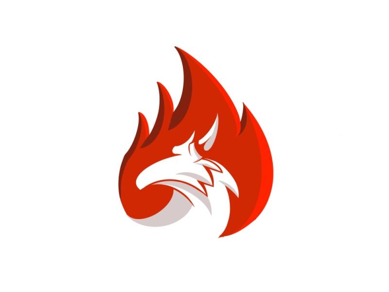 Dragon Fire Logo In 2021 Fire Dragon Mountain Logos Logos