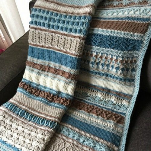 Double Trouble Crochet Blanket - Free Pattern (Beautiful Skills ...