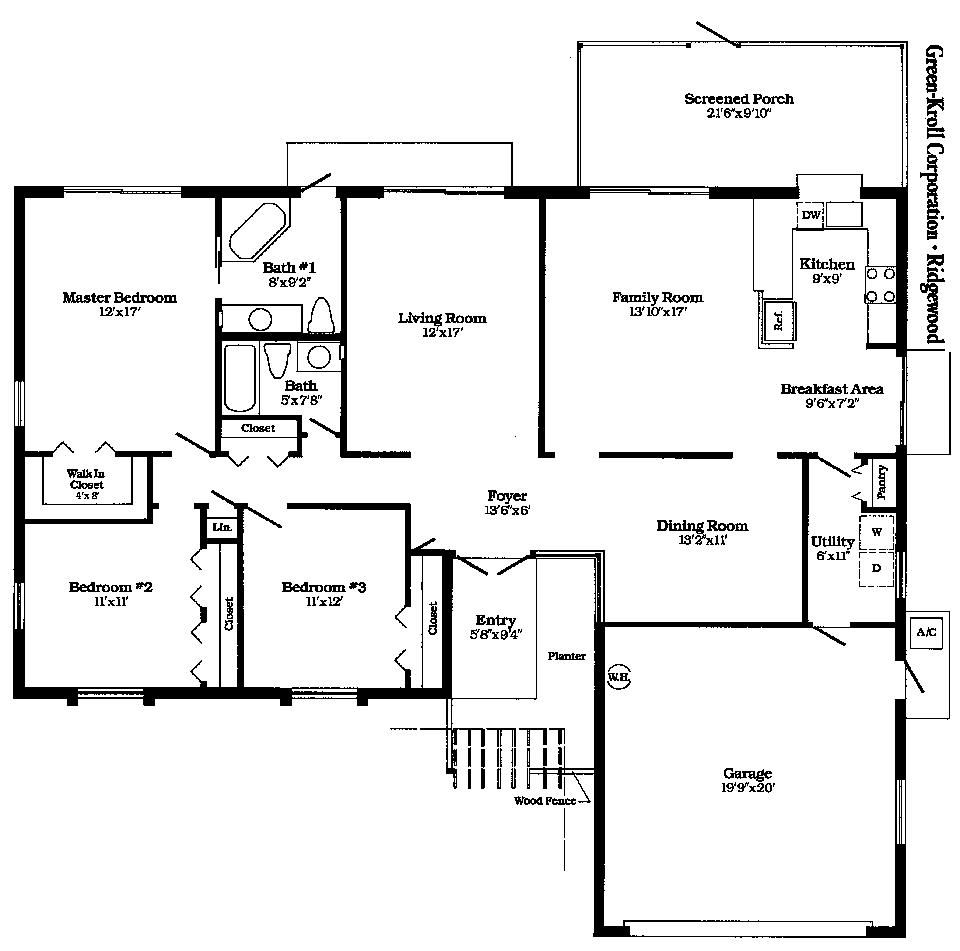 Free Floor Plans For Houses House Floor Plans Free Floor Plans Simple Floor Plans