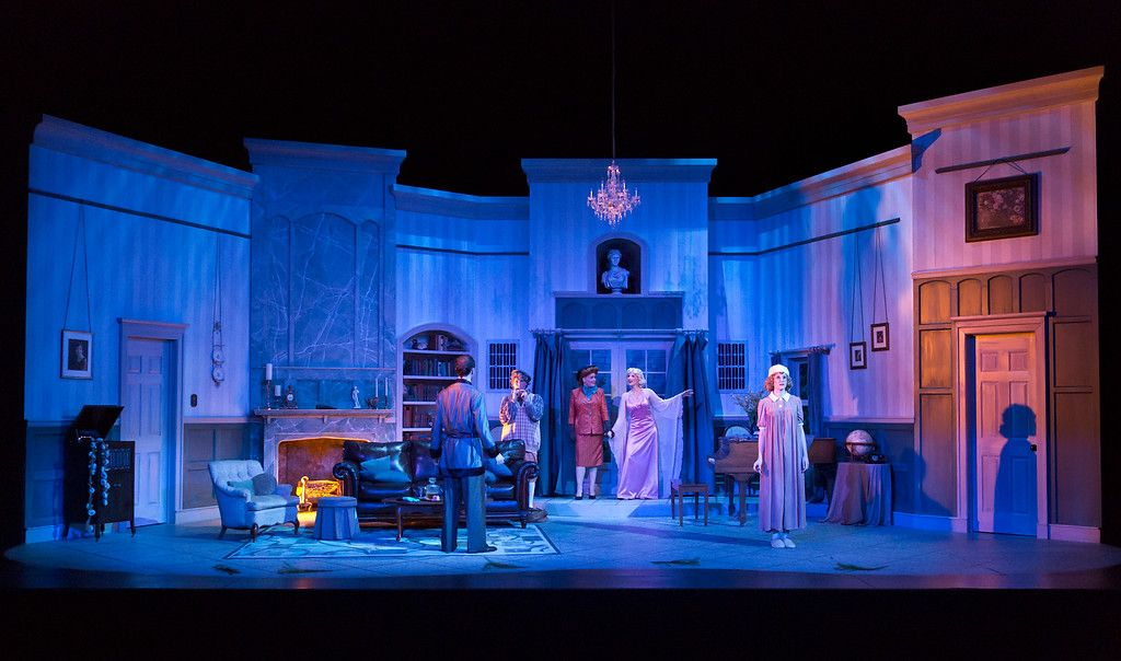 Whole Room Turned Cold Blithe Spirit In 2019