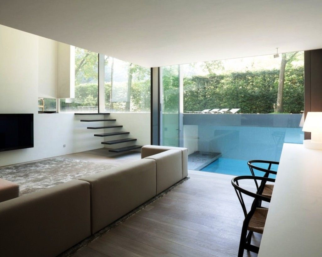 Pool house apartment designs ideas