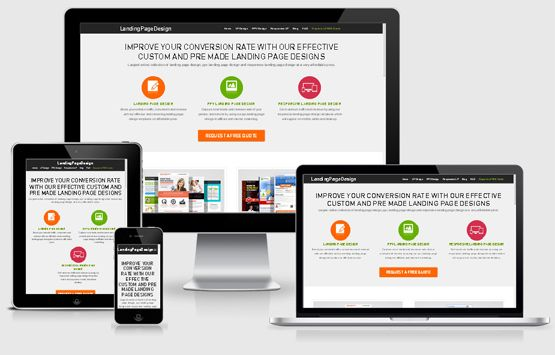 Most of the online businesses are using the landing pages on their