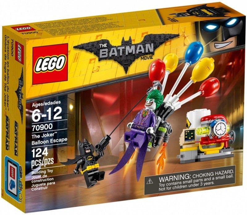 Lego Batman Balonowa ucieczka Jokera 70900 Lego