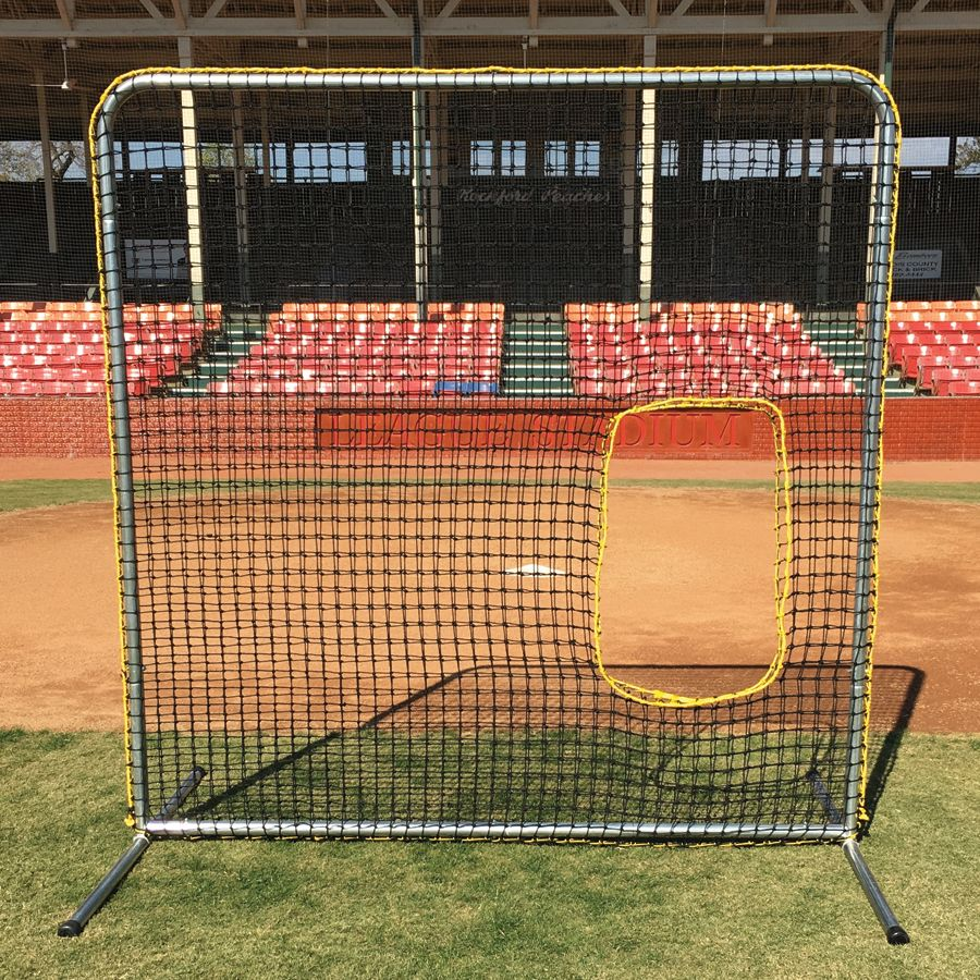 Pro Gold Ii 36 Softball 7 X 7 Screen With Cutout Screen Gold Sports