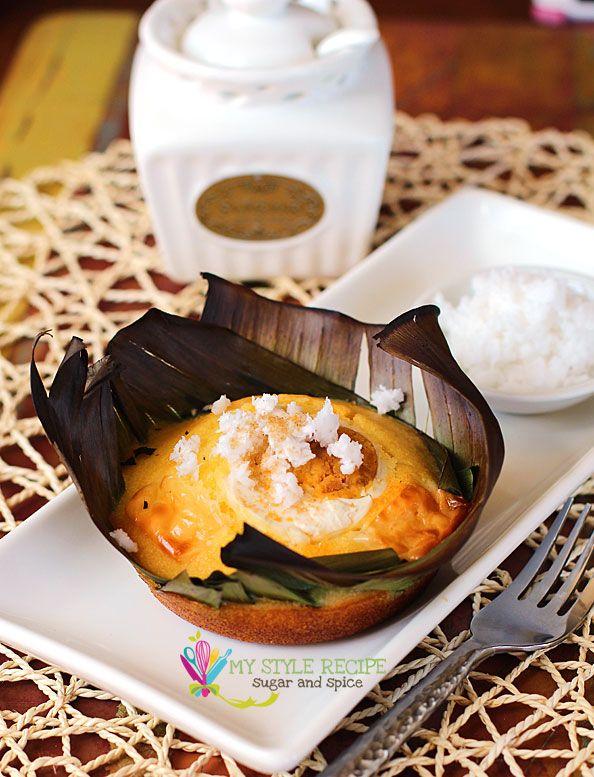 Easy bibingka recipe yum filo treats pinterest bibingka bibingka is a filipino rice cake commonly serve around the holiday season forumfinder Image collections