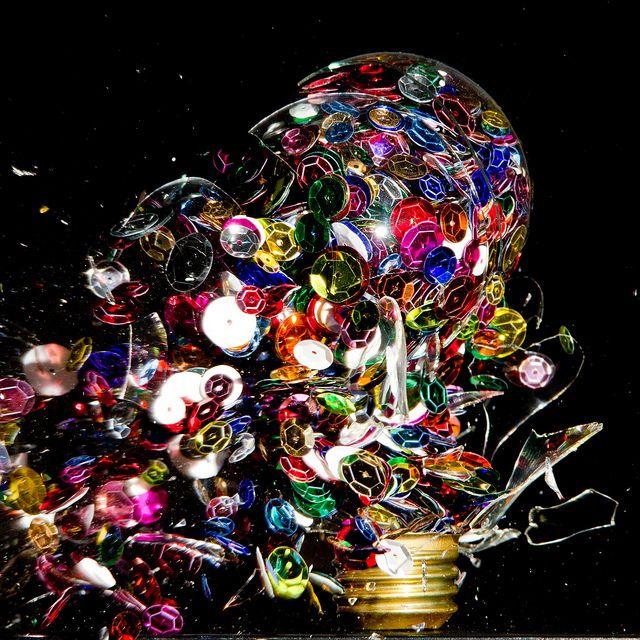 Exploding Light Bulbs Caught At High Speeds High Speed