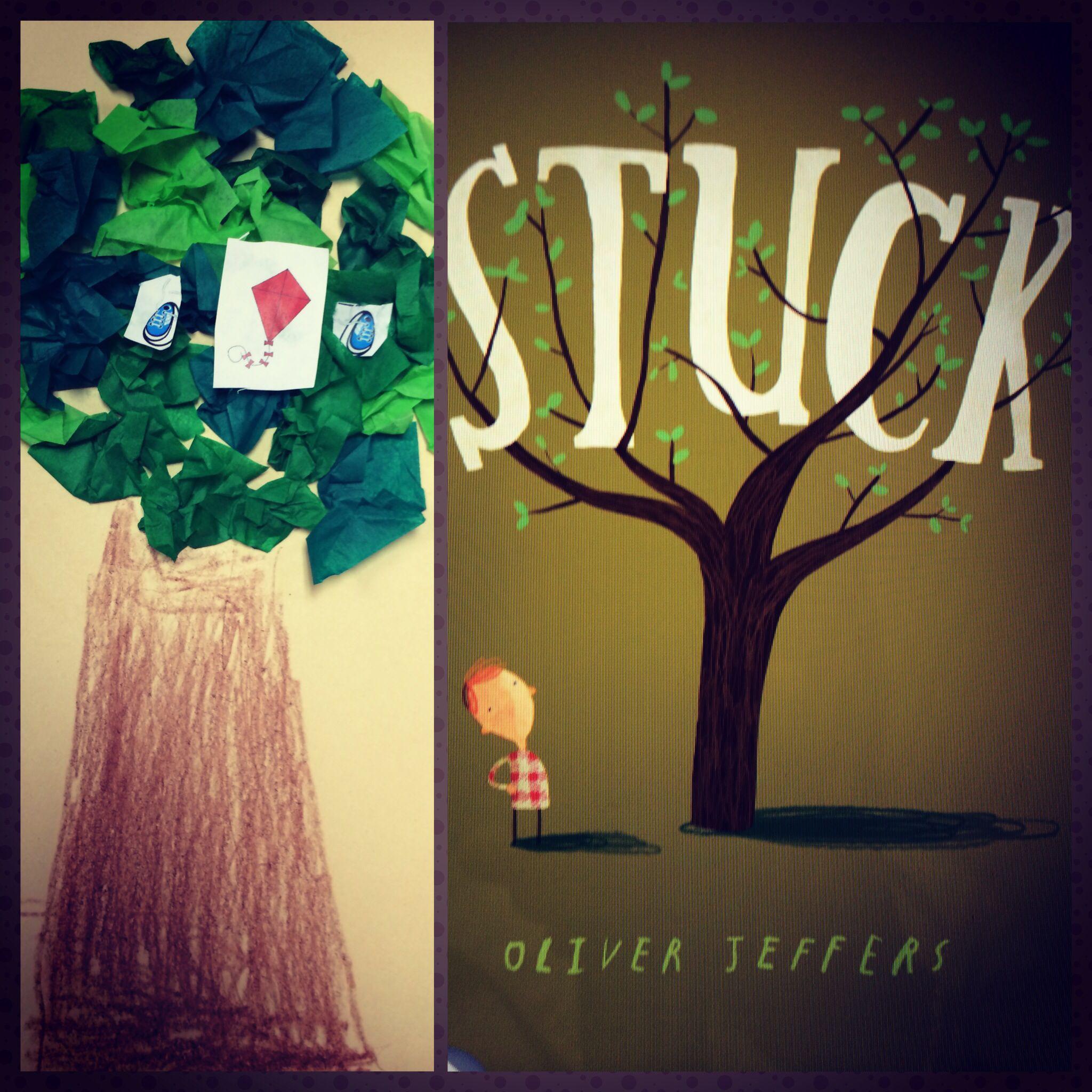 Stuck craftivity