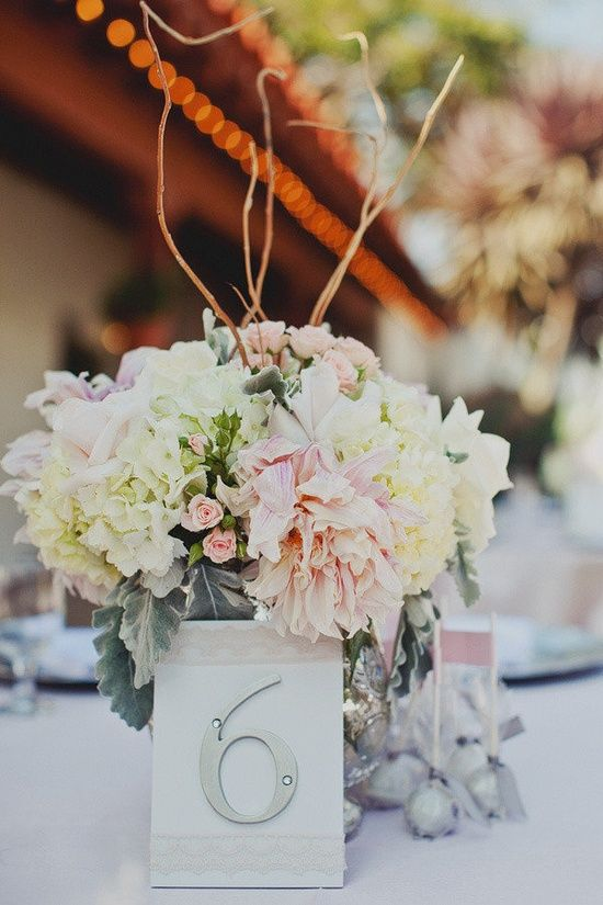 Creative Personalized Wedding Reception Table Numbers Wedding