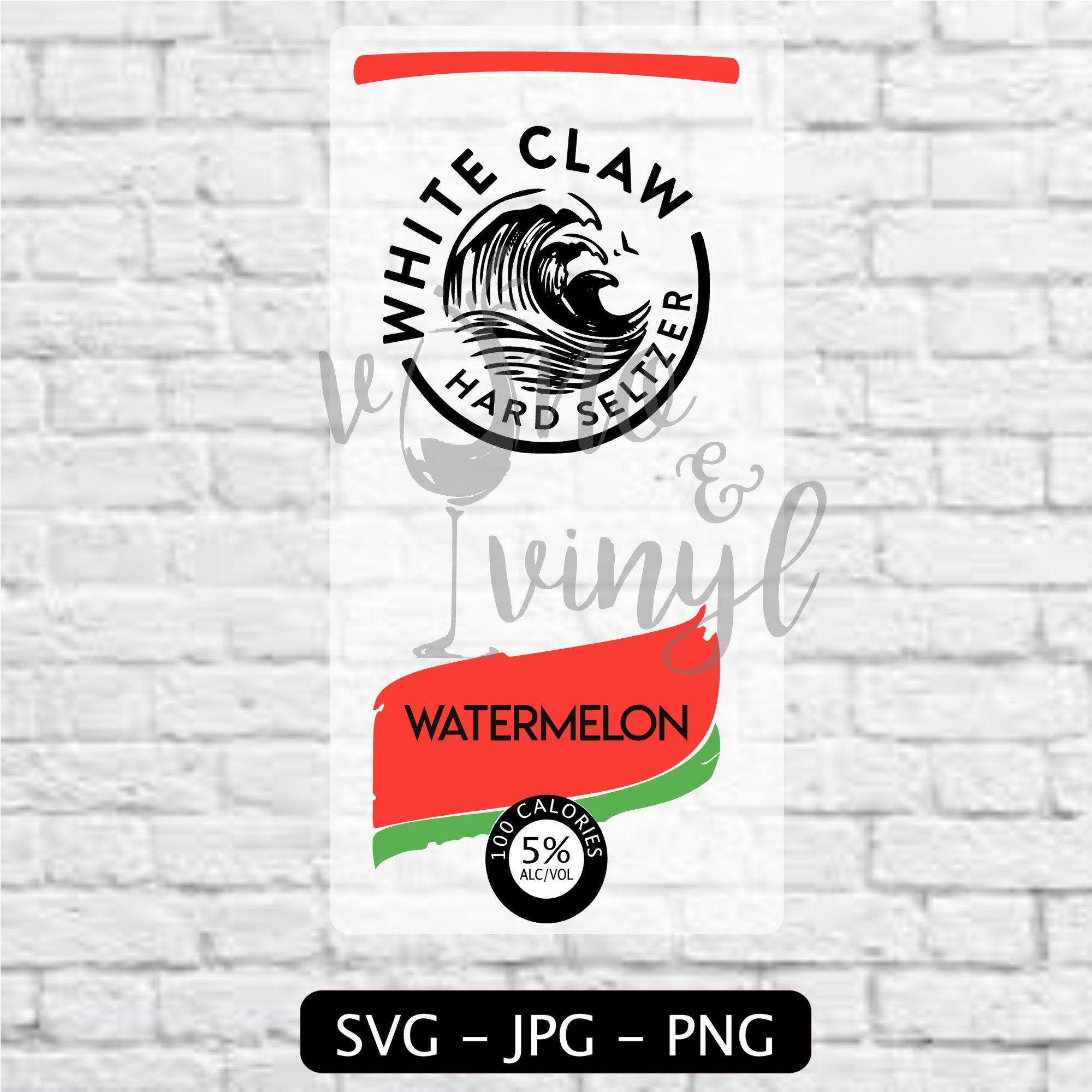 White Claw SVG & Image Watermelon Flavor in 2020 Svg