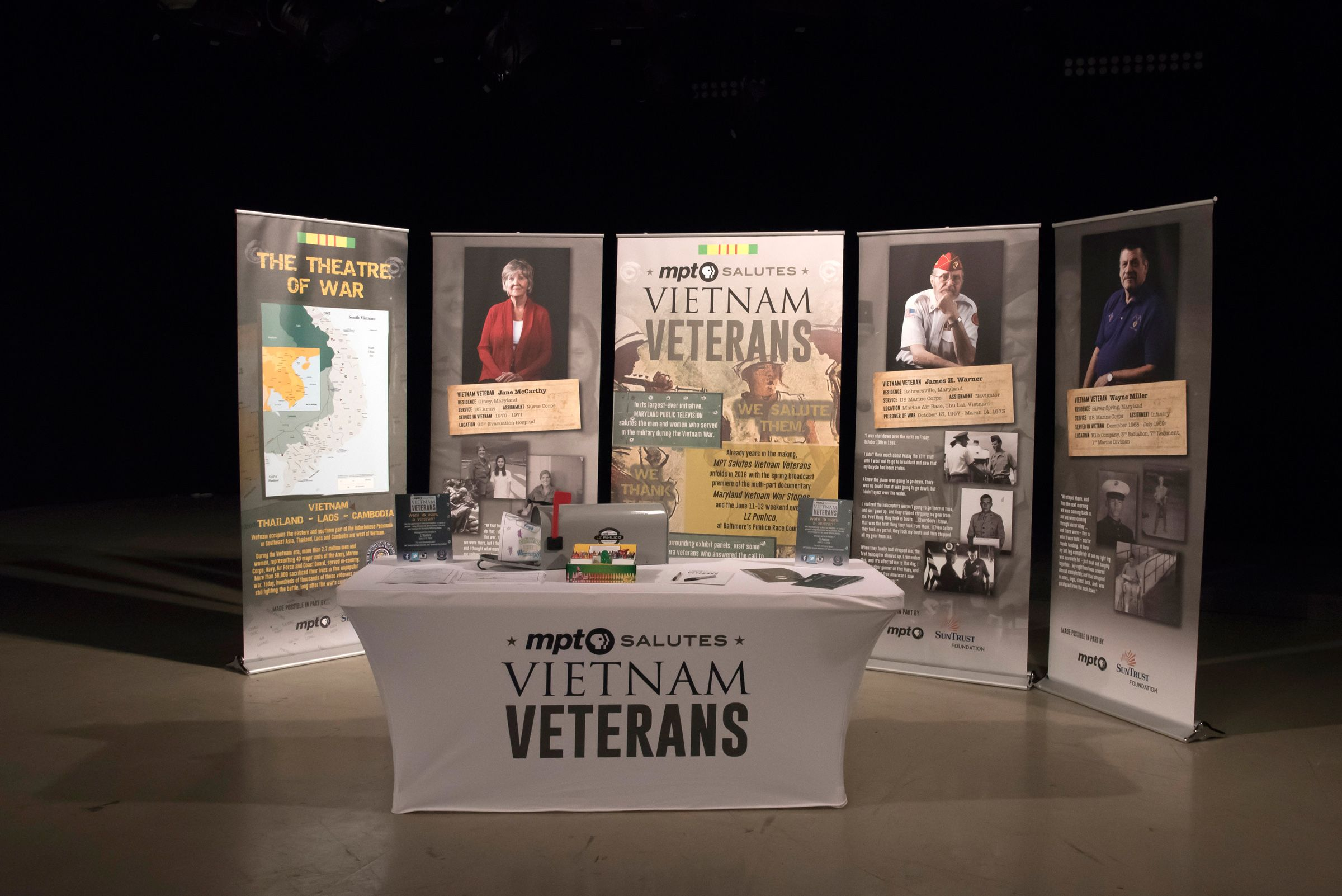 MPT's Vietnam Veteran's Traveling Exhibit we created for Maryland Public Television that will be traveling throughout Maryland. Learn more about the important project here: http://vietnam.mpt.org/home/
