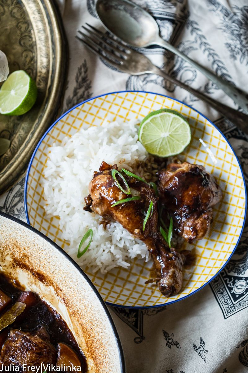 Filipino chicken adobo is a rich soy sauce and vinegar based chicken 19 filipino recipes that prove the cuisine deserves a weekly appearance forumfinder Gallery