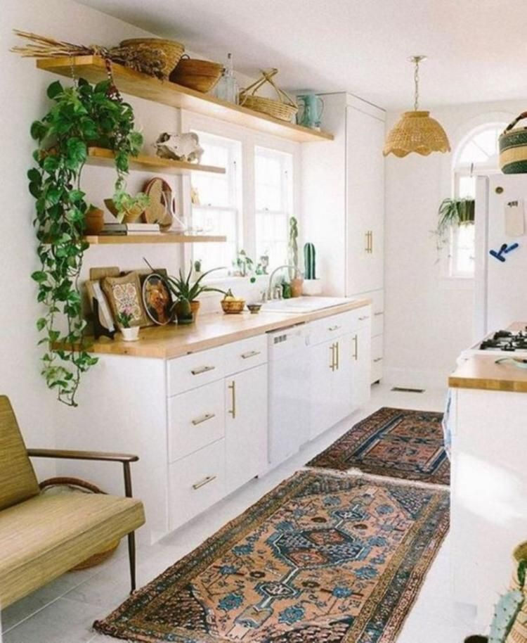 30 Cozy Modern Decorating Ideas For Small Apartment Litet Kok Inredning Koksinredning Kok Inredning