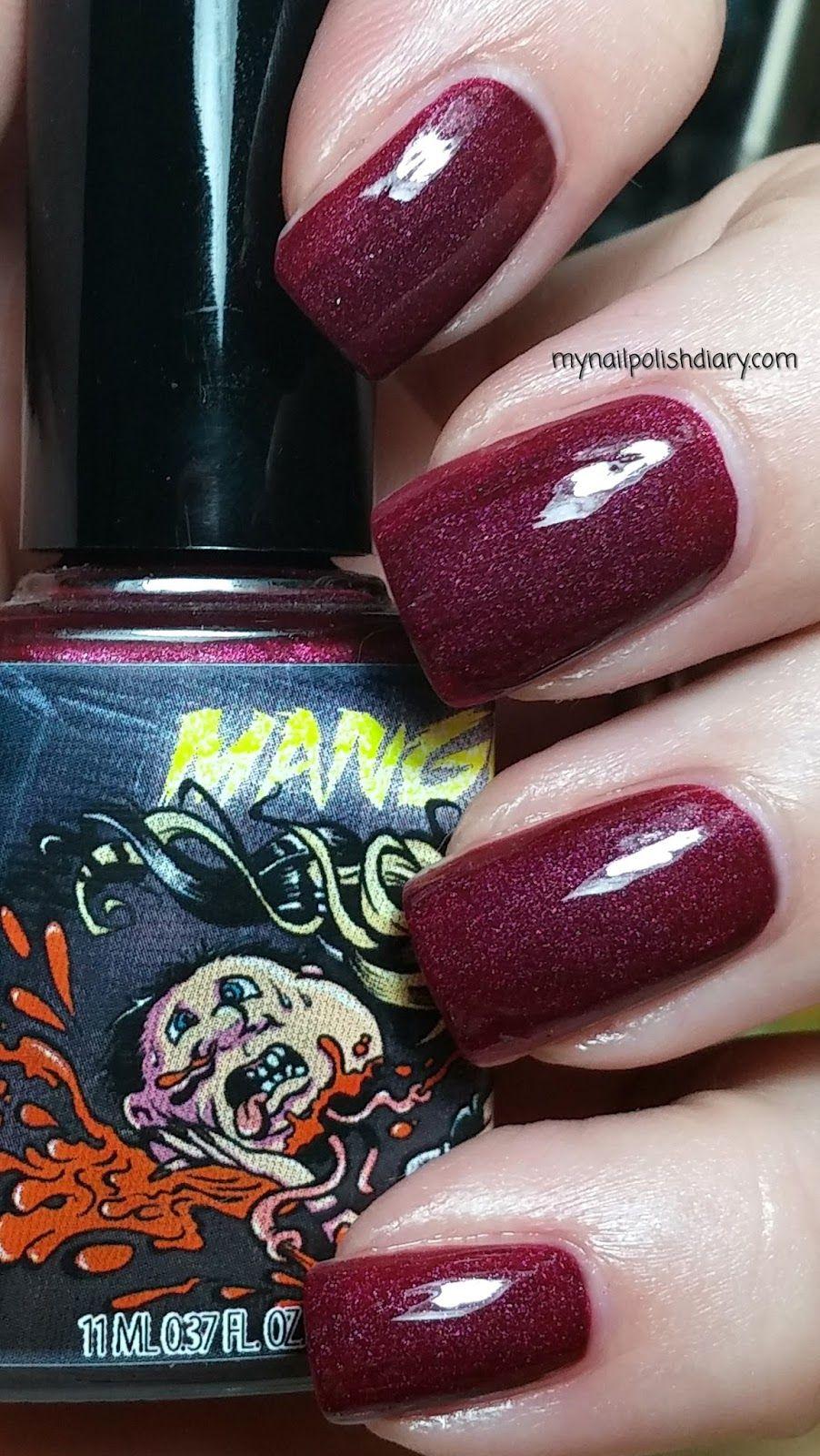 ManGlaze Fatty\'s Got More Blood with Top Coat | mynailpolishdiary ...