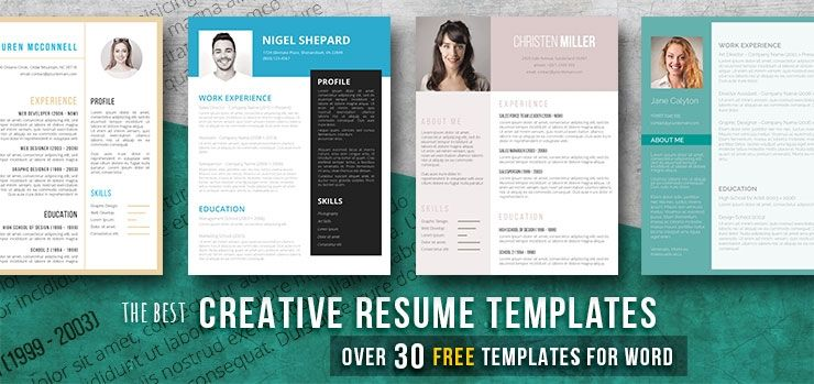 Creative Resume Templates Get The Job You Deserve Freesumes Creative Resume Template Free Creative Resume Templates Resume Template Word