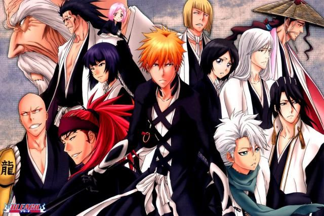 HD Wallpaper And Background Photos Of Bleach Characters For Fans Anime Images