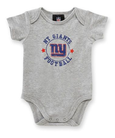 Take A Look At This Gray New York Giants Bodysuit By Game