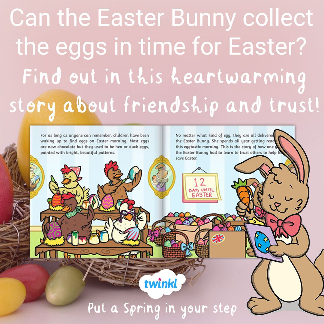 Saving Easter Is The Perfect Text To Base Your Early Years