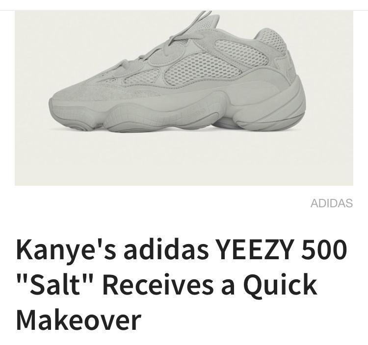 size 40 8518e 01fc9 Kanye's adidas YEEZY 500