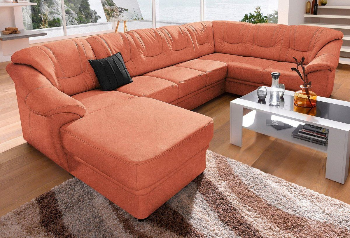 Wohnlandschaft Wahlweise Mit Bettfunktion Couch Home Furniture