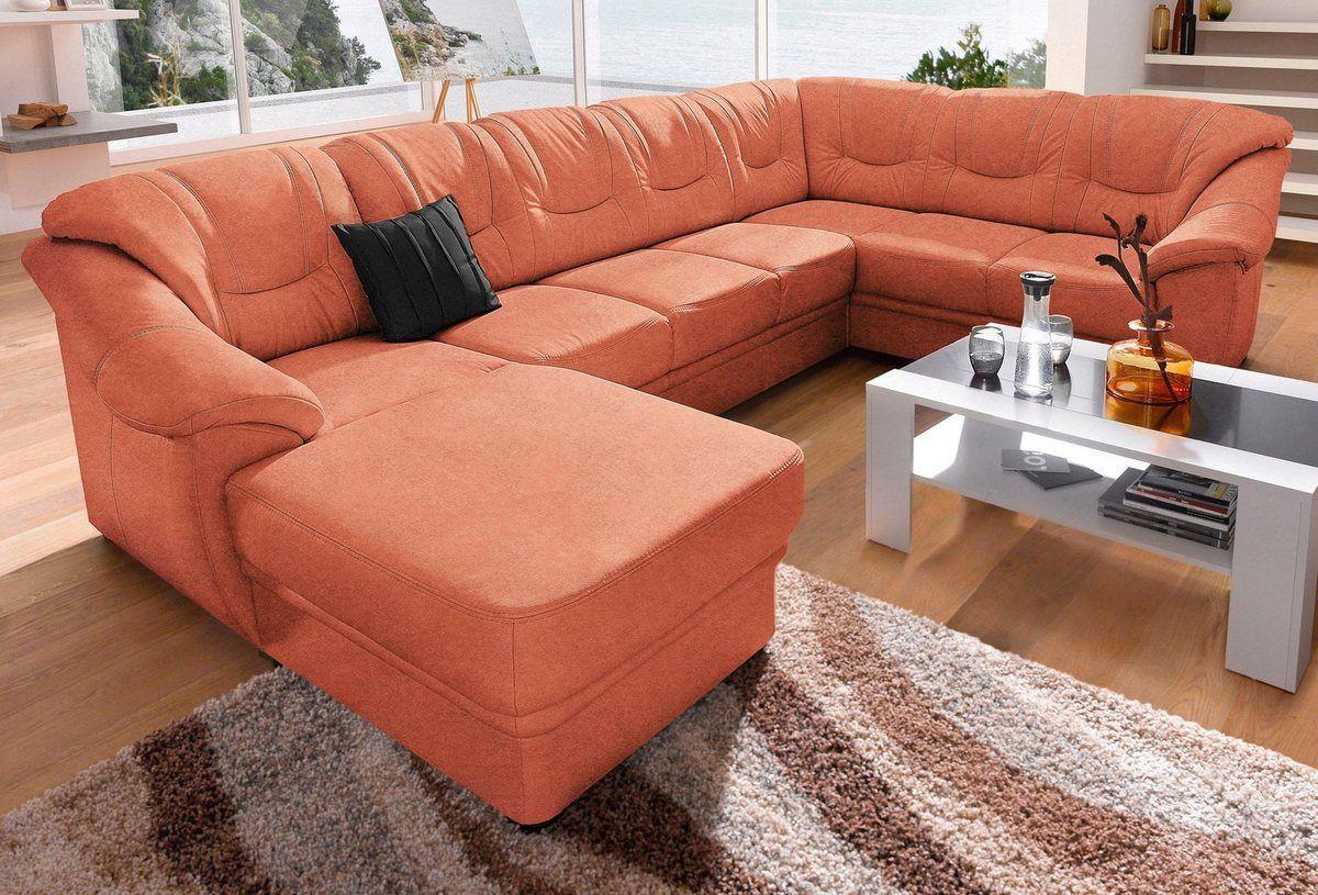 Wohnlandschaft Wahlweise Mit Bettfunktion Couch Home Furniture