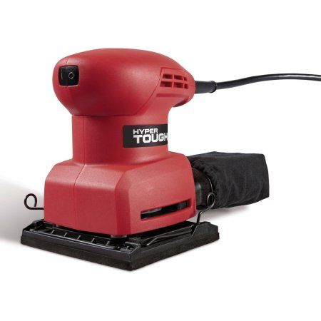 Free 2 Day Shipping On Qualified Orders Over 35 Buy Hyper Tough 2 0amp 1 X2f 4 Sheet Sander At Walmart Com Sheet Sander Rough Wood Tough