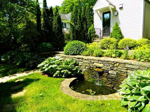 Stone Wall Fountain With Great Fountain In Birmingham Al Www Blueskyrain Com Gives Aw Water Features In The Garden Backyard Water Feature Fountains Backyard