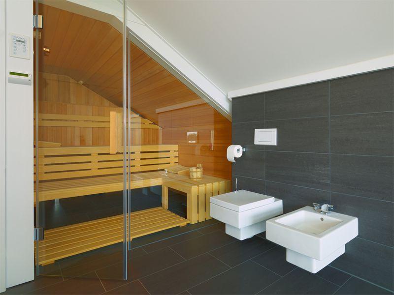 HUF Haus- Wellnesbereich Huf Haus Pinterest Badezimmer mit - sauna im badezimmer