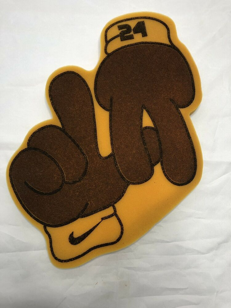 6393bb6c17dd Nike Kobe Bryant LA Lakers Foam Finger  24 Black Mamba Los Angeles NBA   Nike  LosAngelesAngels
