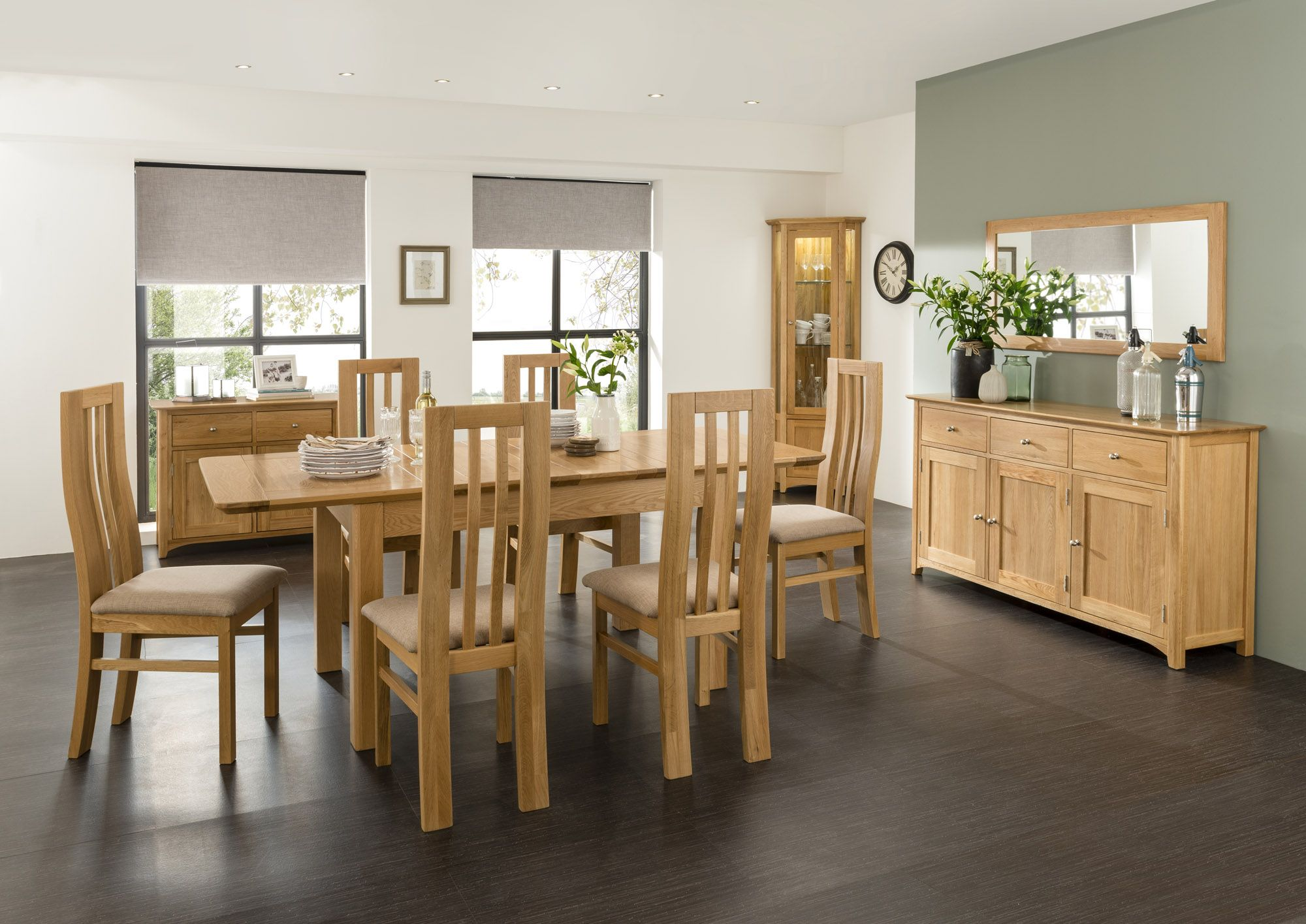 Cookes Collection Aruba dining set #dining #table #chairs #oak #roomscene #getthelook http://www.cookesfurniture.co.uk/complete-the-look/aruba-look/c180