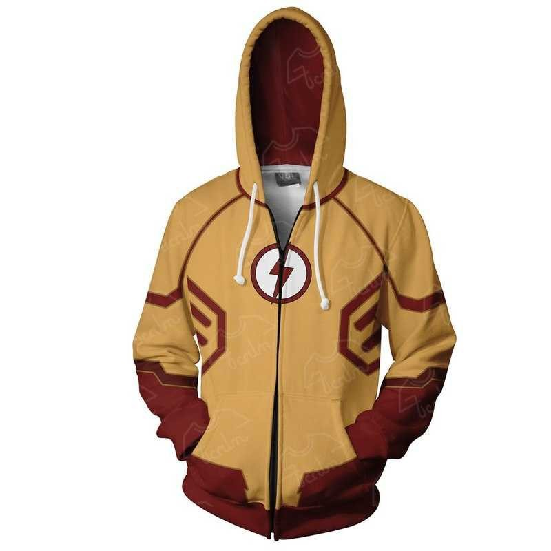 Fans Wear Sweatshirt The Flash Hoodies Justice League The