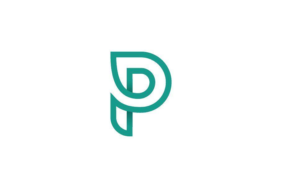 Letter P Logo Letter Logo Design Logo Design Template Logos
