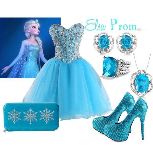 Elsa Prom Dress\