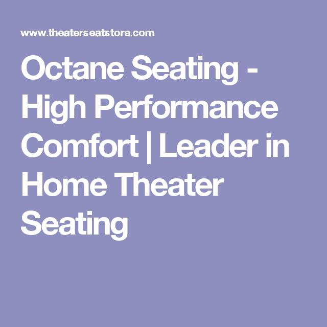 Octane Seating - High Performance Comfort