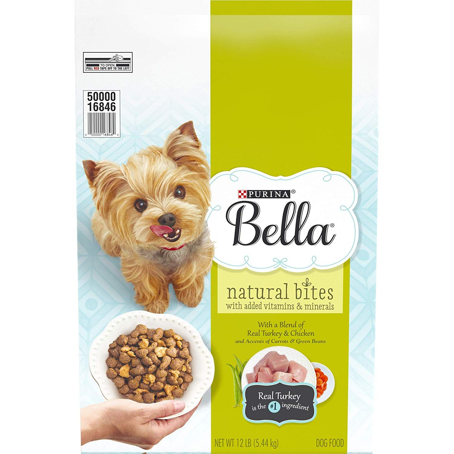 Purina Bella Natural Bites for Small Dogs Adult Dry Dog