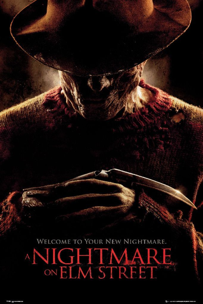 Nightmare on Elm Street One Sheet - Official Poster