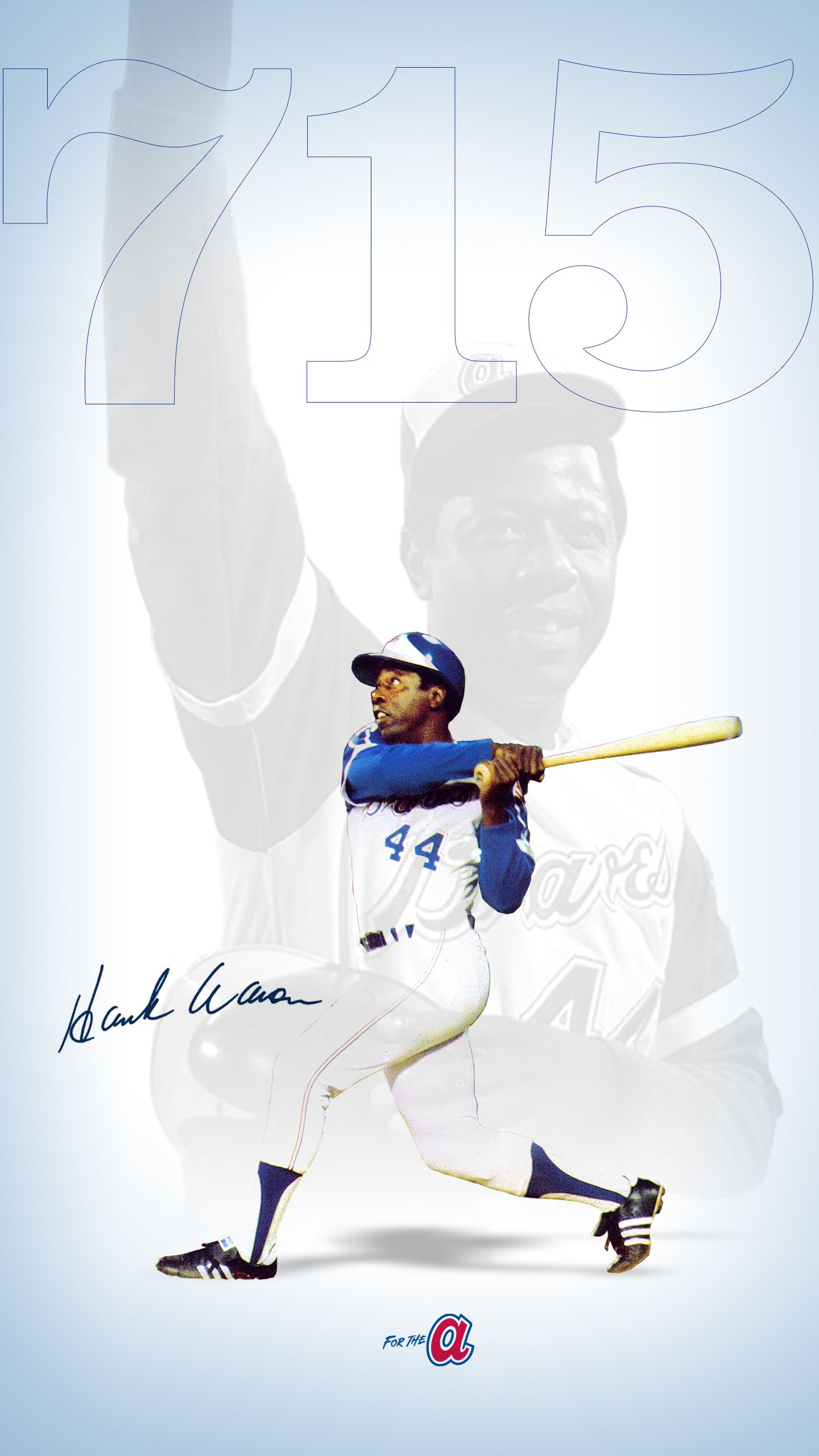 Hank Aaron Atlanta Braves In 2020 Braves Atlanta Braves Homerun