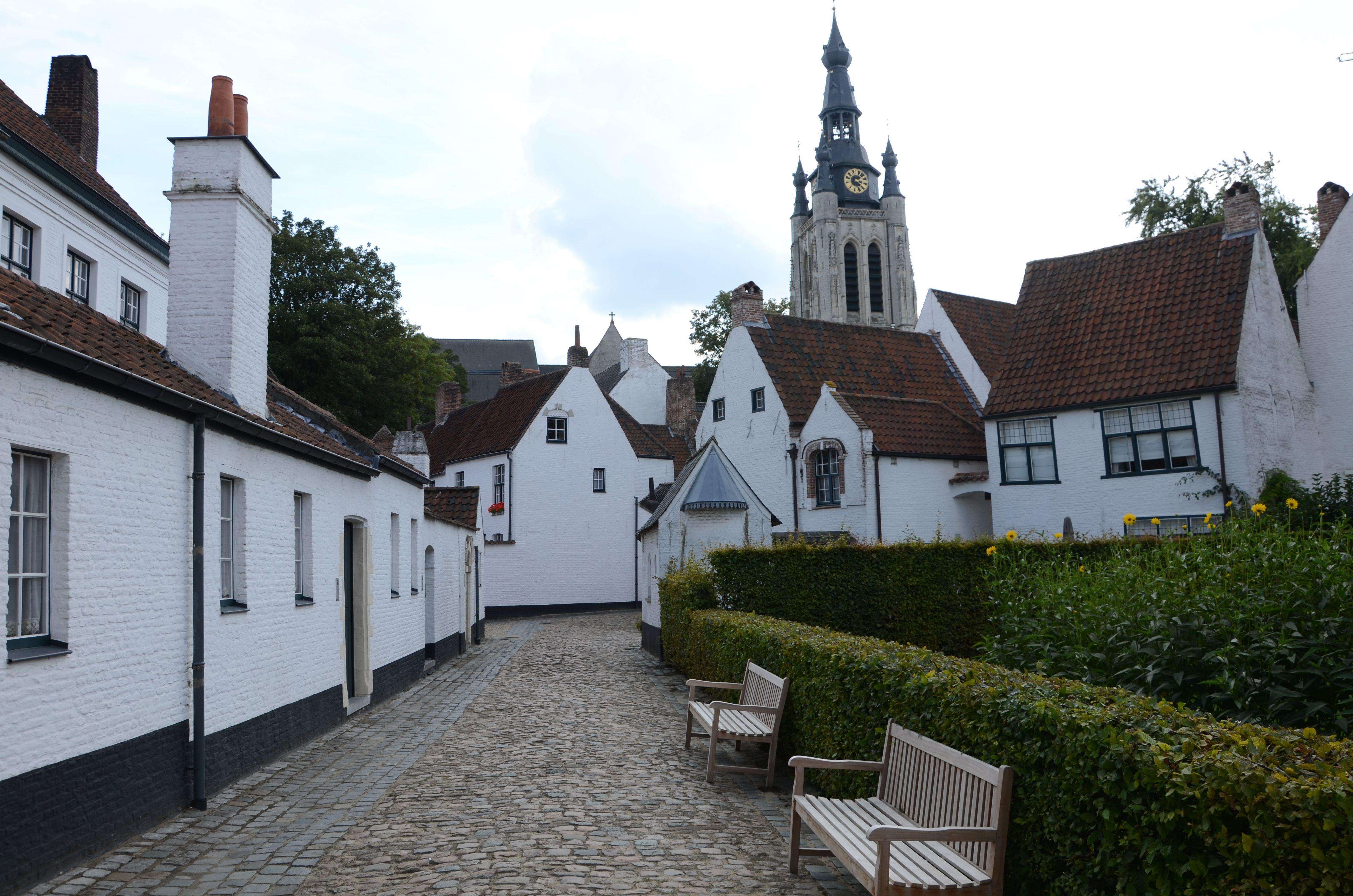 Begijnhof in Kortrijk, Belgium #Kortrijk #Courtrai #Belgium #citytrip #europe #oneday #trip