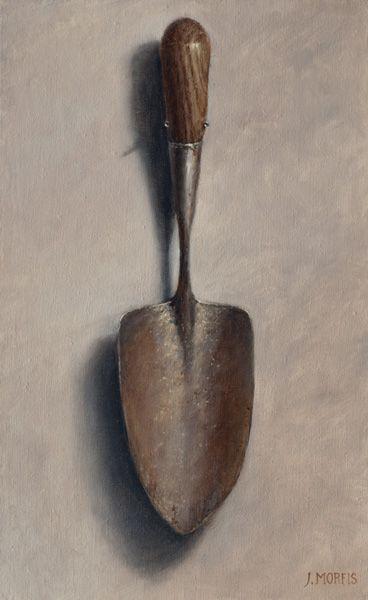 The Antique Garden Trowel Garden Trowel Gardening Shovel Oil