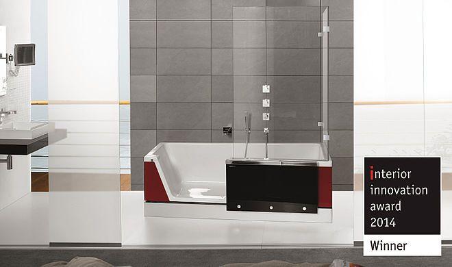 Duschbadewanne Easy-in 170