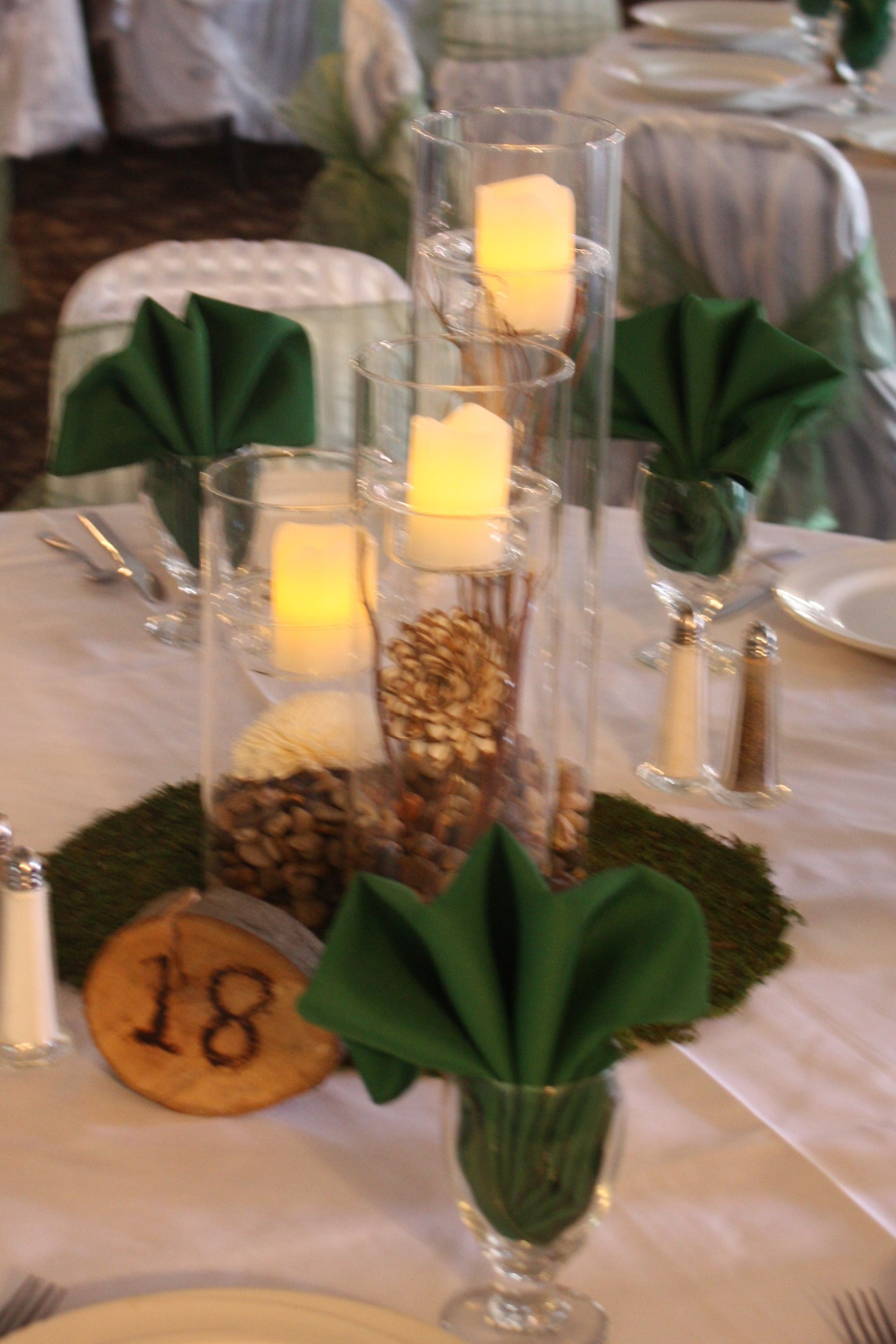 Natural themed wedding centerpiece rentals pinterest themed natural themed wedding junglespirit Image collections