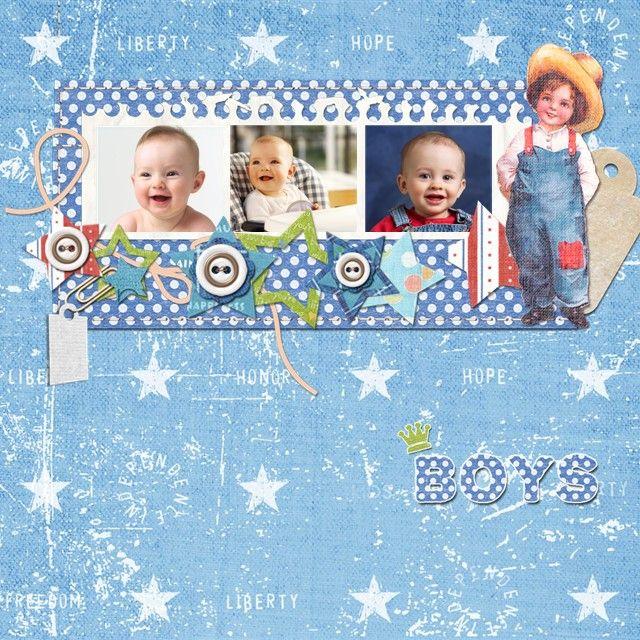Baby Boy Scrapbook Page Ideas Baby Scrapbook Baby Shower