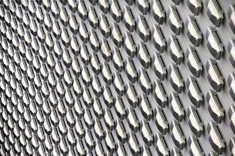 AUDI Design Wall Installation At Pinakothek Der Moderne   Designboom |  Architecture U0026 Design Magazine