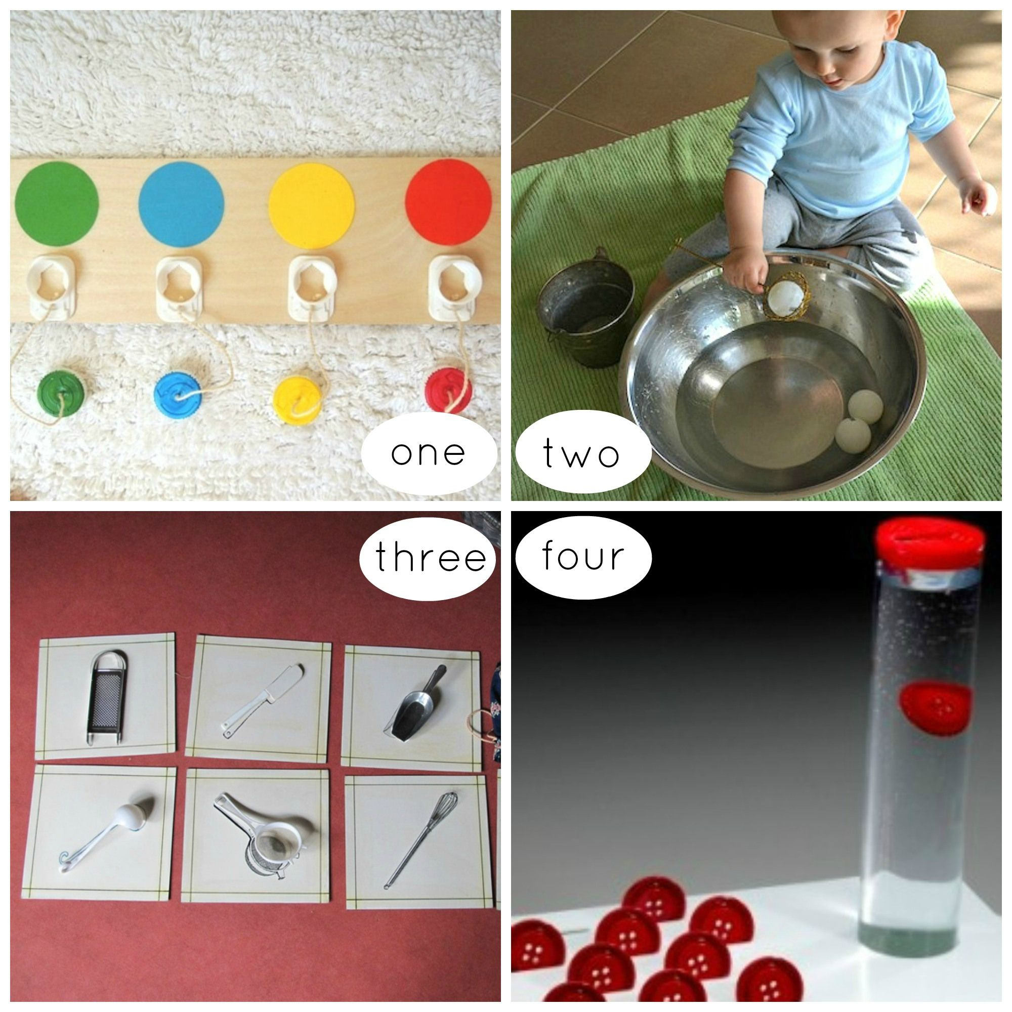 activit s d 39 inspiration montessori pour les tout petits cole pinterest montessori pour. Black Bedroom Furniture Sets. Home Design Ideas