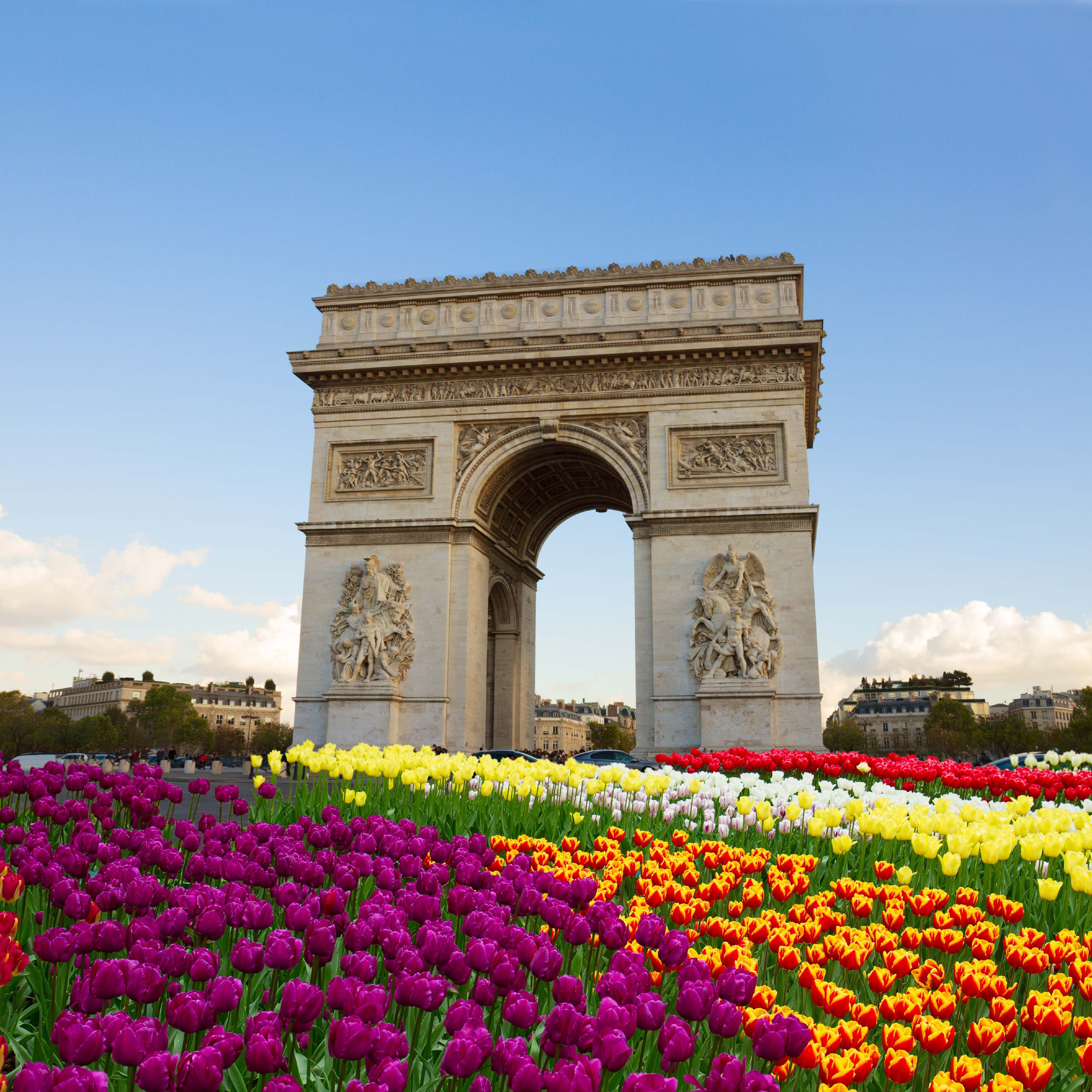The Arc De Triomphe Is One Of The Most Famous Monuments In Paris It Stands In The Centre Of The Place Charles De Arc De Triomphe Arc De Triomphe Paris France