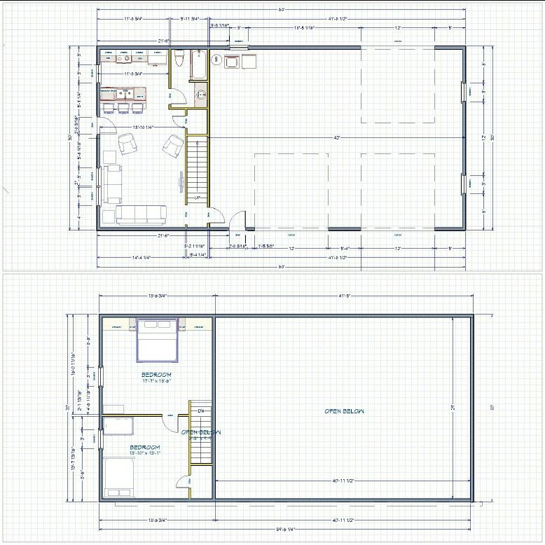 Floorplan For Shop With Living Quarters Shop Building Plans Shop With Living Quarters Shop Buildings