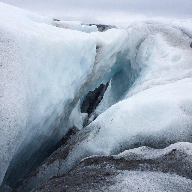 Land of ice #iceland #vatnajökull #glacierhike #gvpics